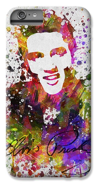 Rhythm And Blues iPhone 6s Plus Case - Elvis Presley In Color by Aged Pixel