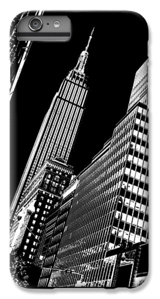 Empire State Building iPhone 6s Plus Case - Empire Perspective by Az Jackson