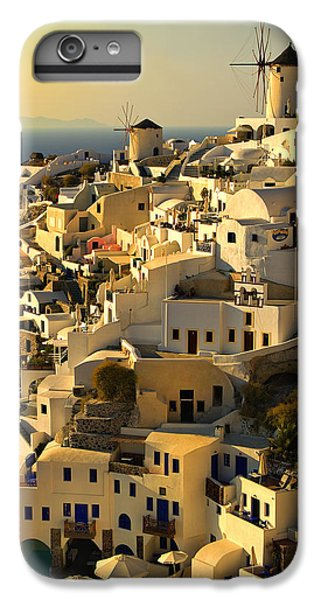 Greece iPhone 6s Plus Case - evening in Oia by Meirion Matthias