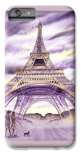 Evening In Paris A Walk To The Eiffel Tower IPhone 6s Plus Case