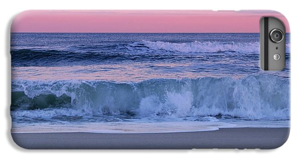 Ocean Sunset iPhone 6s Plus Case - Evening Waves - Jersey Shore by Angie Tirado