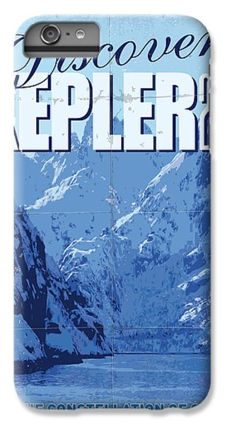 Aliens iPhone 6s Plus Case - Exoplanet 02 Travel Poster Kepler 22b by Chungkong Art