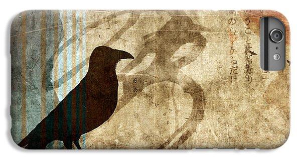 Blackbird iPhone 6s Plus Case - Facing Future by Carol Leigh