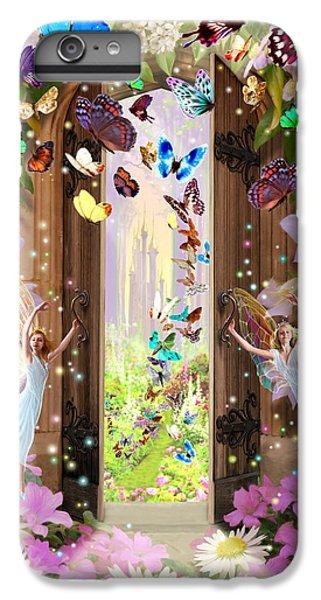 Flower Fairy iPhone 6s Plus Case - Fairy Door by MGL Meiklejohn Graphics Licensing