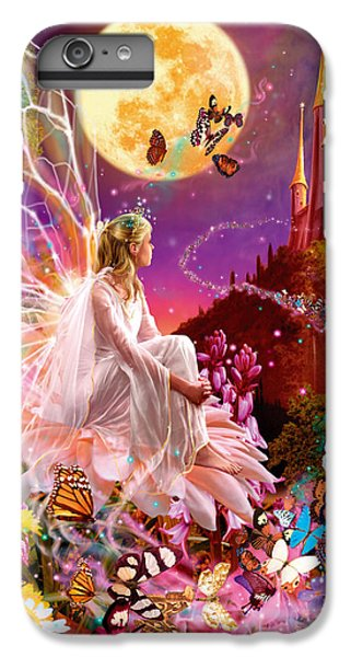 Flower Fairy iPhone 6s Plus Case - Fairy Dream Variant 2 by MGL Meiklejohn Graphics Licensing