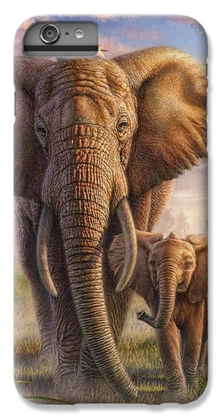 Cow iPhone 6s Plus Case - Family Stroll by Phil Jaeger