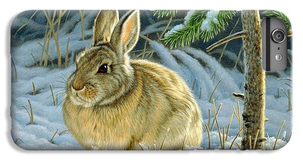 Rabbit iPhone 6s Plus Case - Favorite Place - Bunny by Paul Krapf