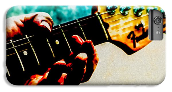 Eric Clapton iPhone 6s Plus Case - Fender Strat by Bob Orsillo
