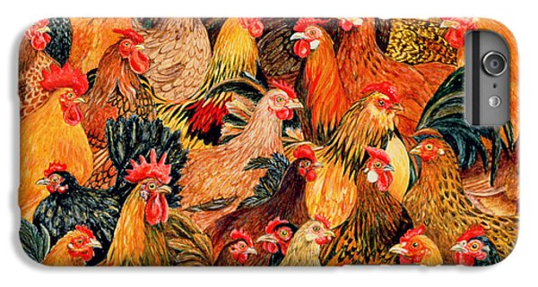 Rooster iPhone 6s Plus Case - Fine Fowl by Ditz