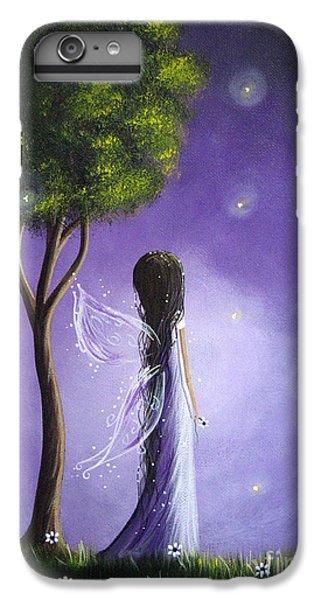 Flower Fairy iPhone 6s Plus Case - Original Fairy Art By Shawna Erback by Erback Art