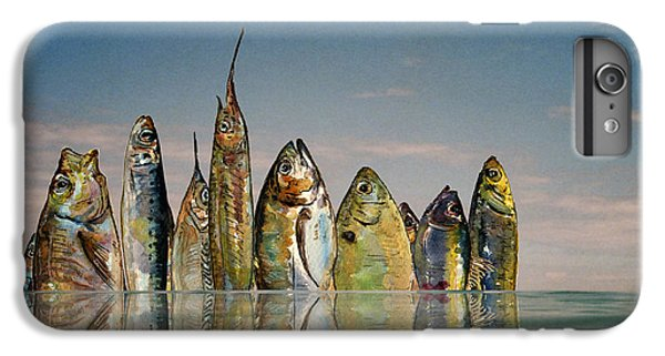 Fishhattan IPhone 6s Plus Case by Juan  Bosco