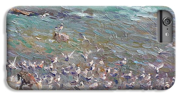 Seagull iPhone 6s Plus Case - Fishing Time by Ylli Haruni