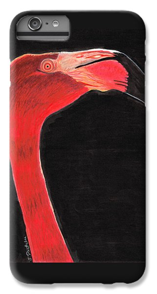 Flamingo Art By Sharon Cummings IPhone 6s Plus Case