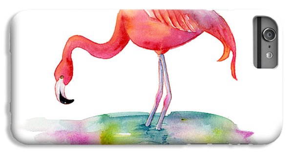Hot iPhone 6s Plus Case - Flamingo Dip by Amy Kirkpatrick