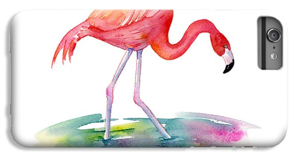 Hot iPhone 6s Plus Case - Flamingo Step by Amy Kirkpatrick