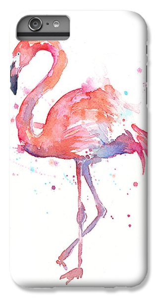 Flamingo Watercolor IPhone 6s Plus Case