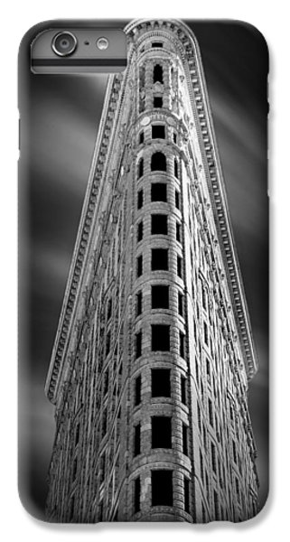 White iPhone 6s Plus Case - Flatiron Nights by Az Jackson