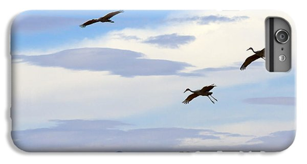 Flight Of The Sandhill Cranes IPhone 6s Plus Case by Mike  Dawson