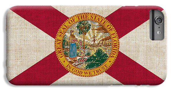 Florida State Flag IPhone 6s Plus Case by Pixel Chimp