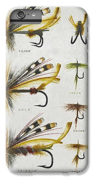 Fly Fishing Flies IPhone 6s Plus Case by Aged Pixel