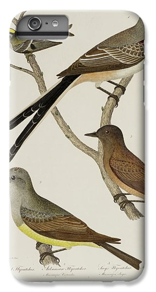 Wren iPhone 6s Plus Case - Flycatcher And Wren by British Library