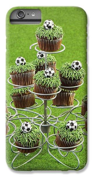 Fairy Cake iPhone 6s Plus Case - Football Cakes by Amanda Elwell