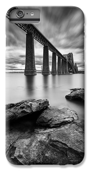 White iPhone 6s Plus Case - Forth Bridge by Dave Bowman