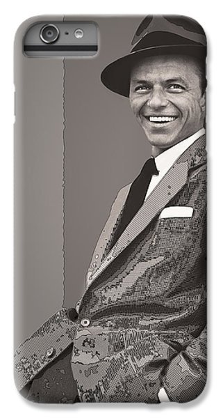 Frank Sinatra IPhone 6s Plus Case by Daniel Hagerman