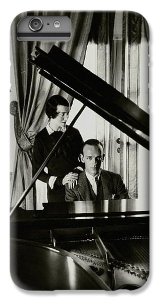 Fred And Adele Astaire At A Piano IPhone 6s Plus Case by Cecil Beaton