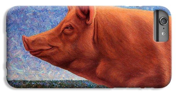Free Range Pig IPhone 6s Plus Case