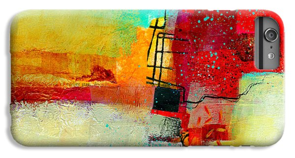 Abstract iPhone 6s Plus Case - Fresh Paint #2 by Jane Davies