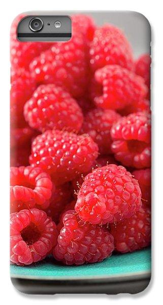 Fresh Raspberries IPhone 6s Plus Case by Aberration Films Ltd