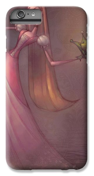 Amphibians iPhone 6s Plus Case - Frog Prince by Adam Ford