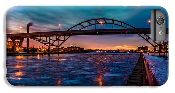 Frozen Hoan Bridge IPhone 6s Plus Case by Randy Scherkenbach