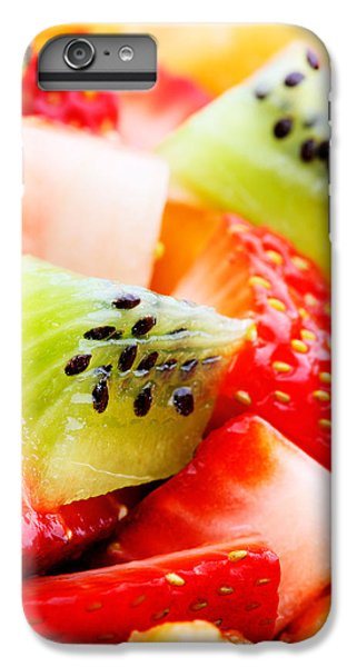 Kiwi iPhone 6s Plus Case - Fruit Salad Macro by Johan Swanepoel