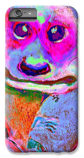 Funky Meerkat Tunnel Art Print IPhone 6s Plus Case