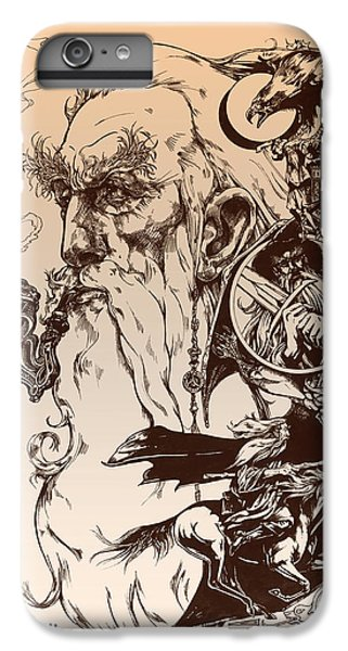 Wizard iPhone 6s Plus Case - gandalf- Tolkien appreciation by Derrick Higgins