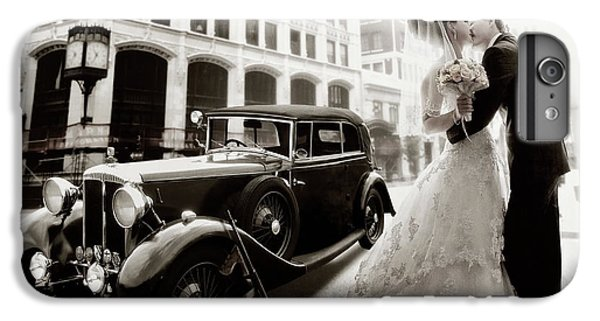Car iPhone 6s Plus Case - Gangster Wedding by Dmitry Laudin
