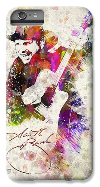 Saxophone iPhone 6s Plus Case - Garth Brooks by Aged Pixel