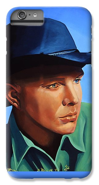 Saxophone iPhone 6s Plus Case - Garth Brooks by Paul Meijering