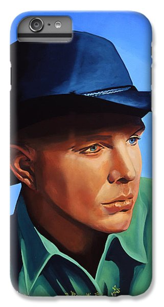Saxophone iPhone 6s Plus Case - Garth Brooks by Paul Meijering