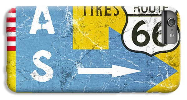 Truck iPhone 6s Plus Case - Gas Next Exit- Route 66 by Linda Woods
