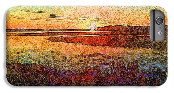 Georgian Bay Sunset IPhone 6s Plus Case by Claire Bull