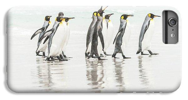 Penguin iPhone 6s Plus Case - Get Lost ! by Usha Peddamatham