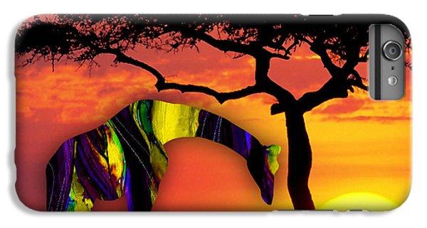 Giraffe Painting IPhone 6s Plus Case