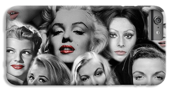 Grace Kelly iPhone 6s Plus Case - Glamour Girls 1 by Andrew Fare