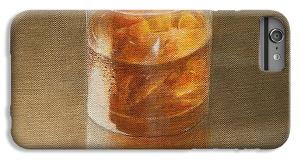 Bar iPhone 6s Plus Case - Glass Of Whisky 2010 by Lincoln Seligman