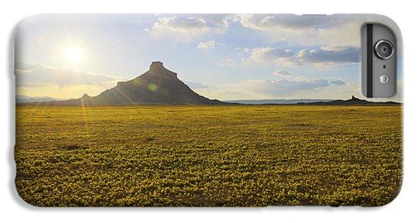 Desert Sunset iPhone 6s Plus Case - Golden Desert by Chad Dutson