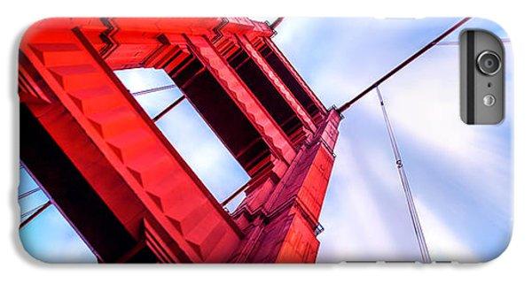 Explosion iPhone 6s Plus Case - Golden Gate Boom by Az Jackson