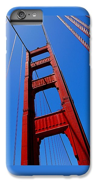Golden Gate Tower IPhone 6s Plus Case by Rona Black